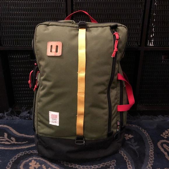 Topo Designs Bags   Topos Designs Travel Bag 40l 3 Way Use Price ... 8fe72bf5bb